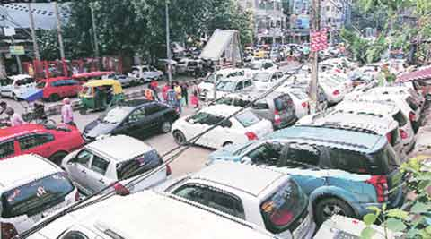 Congress, BJP, parking, parking charge, parking charge hike, parking rate, chandigarh news