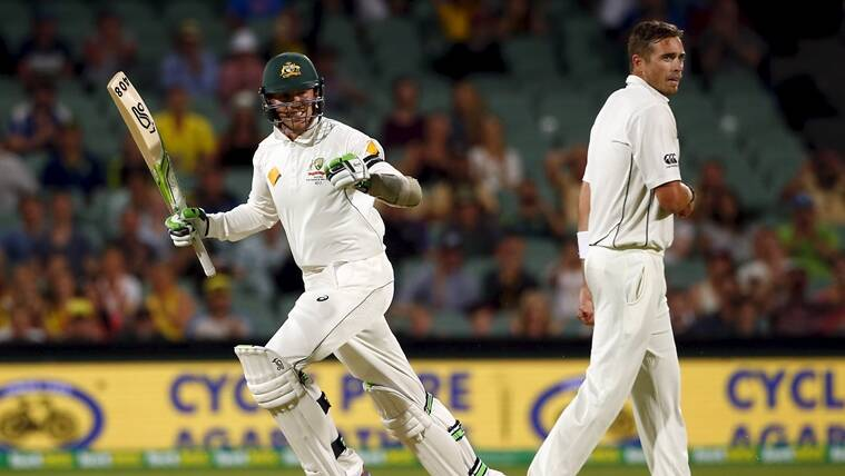 Australia hold nerve to clinch thrilling day night Test