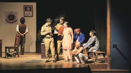 play, Seekh Kabab play, 1984 massacre play, theatre act, standup comdey, sex jokes, talk, indian express