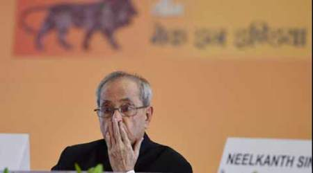President Mukherjee's three-day visit to Gujarat begins on Monday