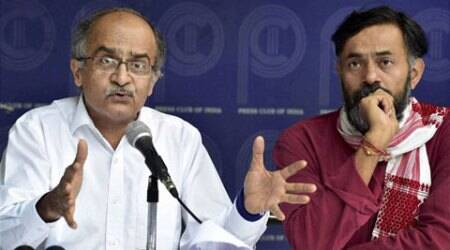 Bhushans should join BJP, says AAP after criticism of Janlokpal