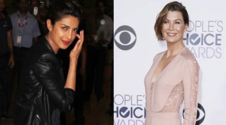 Priyanka Chopra, Ellen Pompeo, Grey's Anatomy, hollywood