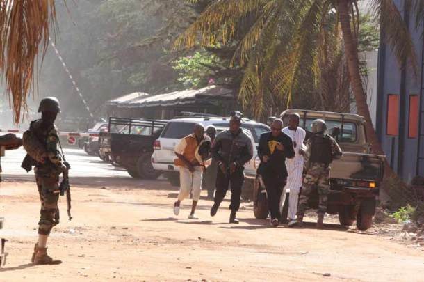 Radisson hotel Mali, Radisson hotel in Mali attacked, Radisson hotel Mali 170 hostages, hostages Radisson hotel, Radisson Hotel siege photos