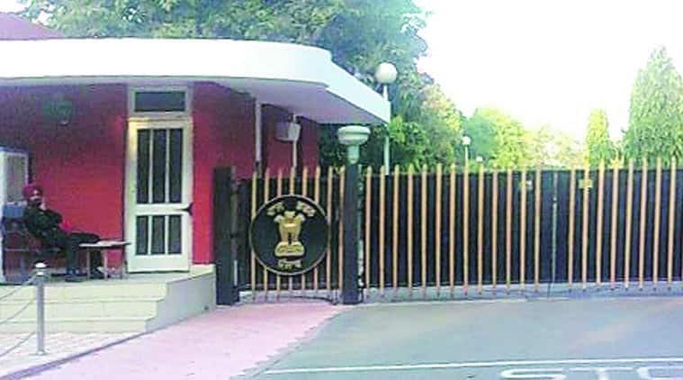 The Punjab Raj Bhawan in Chandigarh.  (Express Archives)