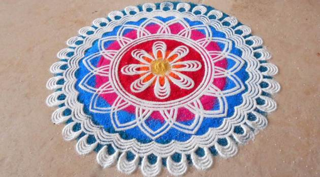 Rangoli designs, rangoli, rangoli images, Rangoli photos, Rangoli designs for Diwali, rangoli pic, diwali photos, deepavali images, deepavali photos, Rangoli, diwali 2017, deepavali rangoli, diwali celebrations, diwali rangoli designs, best rangoli designs, easy rangoli, alpona, kolam
