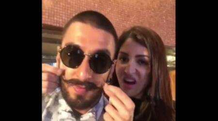Anushka Sharma mouths Bittoo Ranveer Singh's famous line from Bajirao Mastani in dubsmash video