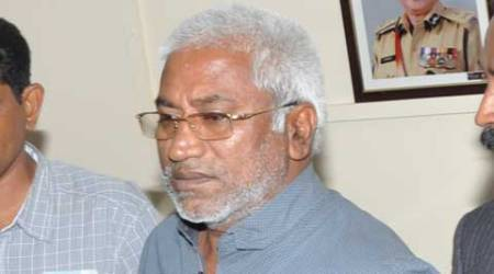 Gangi Reddy, kingpin of red sanders smuggling brought toHyderabad