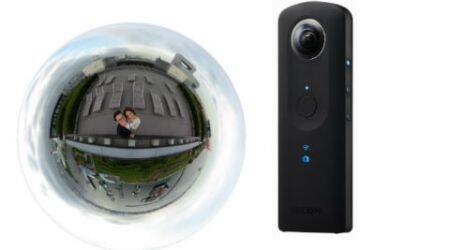 Ricoh Theta S 360 degree spherical camera launched for Rs 39,995