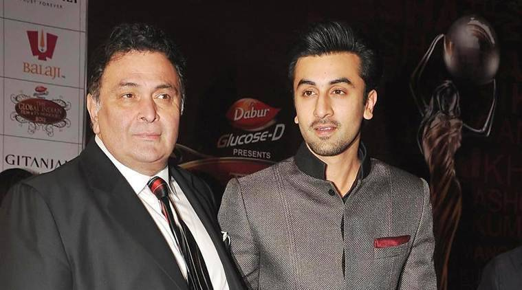 Rishi Kapoor, Rishi Kapoor Tweets. Ranbir Kapoor ADHM, ranbir kapoor copies Rishi's scene, Rishi kapoor movies, Rishi Kapoor movie scenes, Ranbir kapoor movies, Bollywood news, bollywood updates, entertainment news, indian express news, indian express