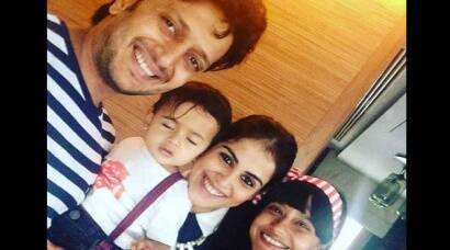 Riteish Deshmukh, Genelia's son Riaan's sailor themed party