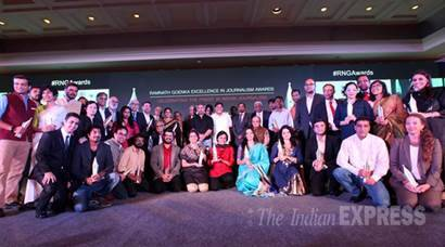 Ramnath Goenka Excellence in Journalism Awards: List of winners