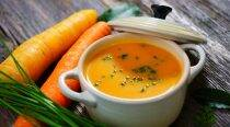 Express Recipes: Piping hot roasted carrot soup