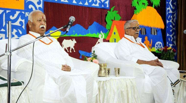 RSS, RSS Ranchi, RSS national meet, rss national meet ranchi, Bhayyaiji Joshi, Mohan Bhagwat, Ranchi news, RSS news, Dadri, intolerance, India intolerance, India news