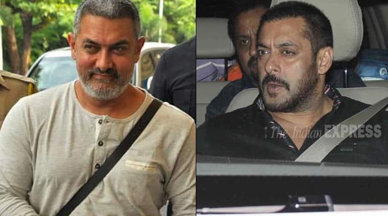 Salman Khan, Aamir Khan, Aamir Khan Injured, Salman Khan Aamir Khan, Aamir Khan injury, Aamir Khan Shoulder injury, Aamir Khan Dangal, Entertainment news