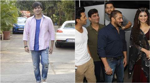 Salman Khan, Vivek Oberoi, Salman Khan Vivek Oberoi, Salman Khan on great grand Masti Sets, Salman khan Vivek Oberoi Relations, Salman, Salman Vivek Relations, Salman Vivek Oberoi Dispute, Salman Vivek Spat, Salman Vivek Fight, Entertainment news