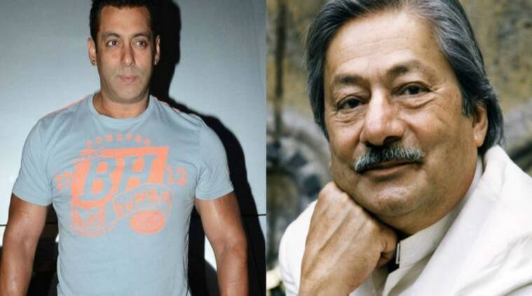 Salman Khan, Saeed Jaffrey, bollywood