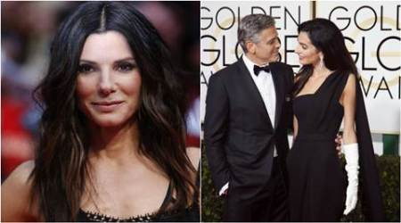 Sandra Bullock, George Clooney, Amal, entertainment news