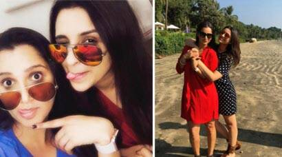Sania Mirza holidays in Goa with actress Parineeti Chopra