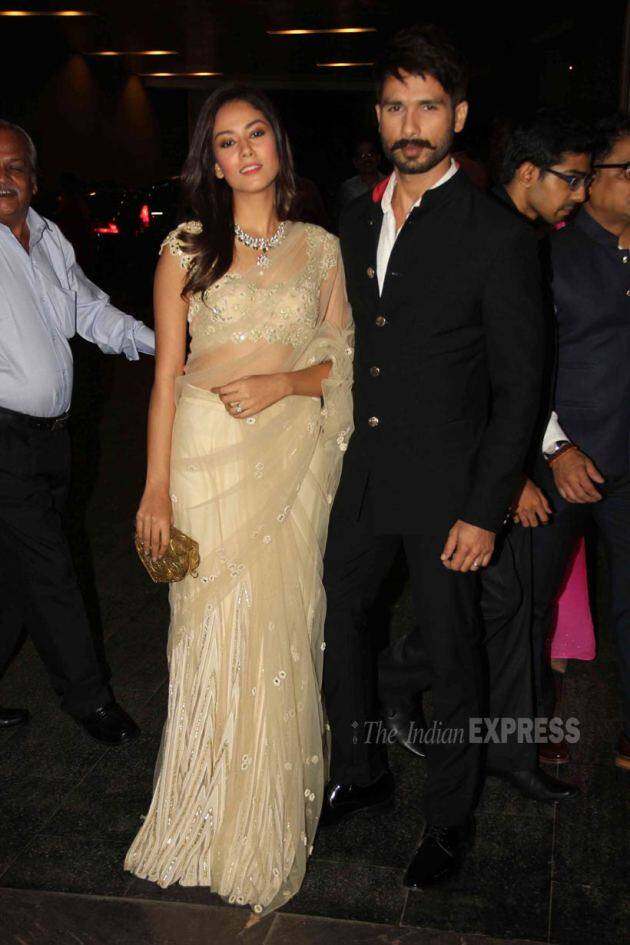 Shahid Kapoor, Mira Rajput, Shahid Mira Masaba wedding reception