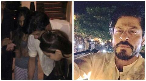 Shah Rukh Khan Shares Birthday Selfie And Later Cuts Cake