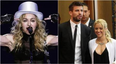 Shakira hooks up with Madonna at Barcelona concert
