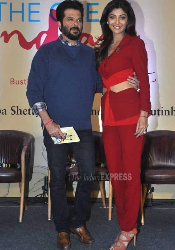 Shilpa Shetty, Raj Kundra, Amitabh Bachchan, Varun Dhawan, Anil Kapoor, Manish Paul, Shamita Shetty, Madhavan