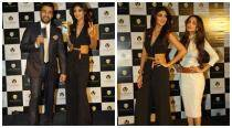 Shilpa, Malaika sizzle at Viaan mobile phone launch
