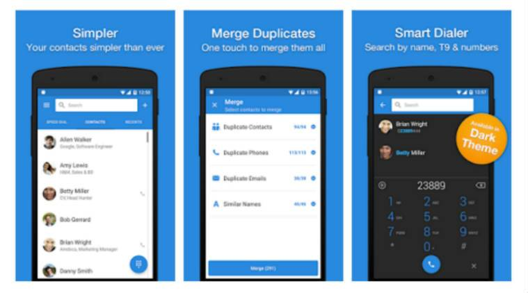 6degrees Addappt Contacts Apps That Will Manage Your Contacts Technology News The Indian Express