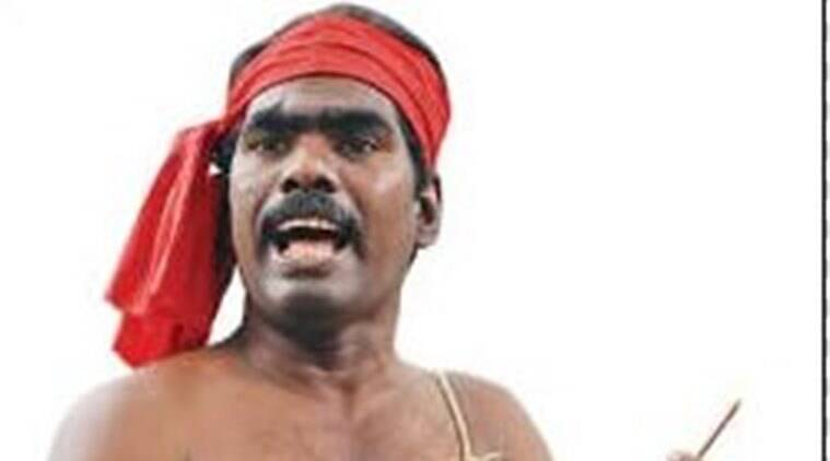 Kovan, J Jayalalithaa, sedition charges, kovan arrested, folk singer kovam, tamil nadu folk singer, india news, Tamil Nadu, S Kovan, Folk singer arrested, sedition, tamil nadu sedition, tamil singer arrested, tamil folk singer arrested, tamil nadu news, india news