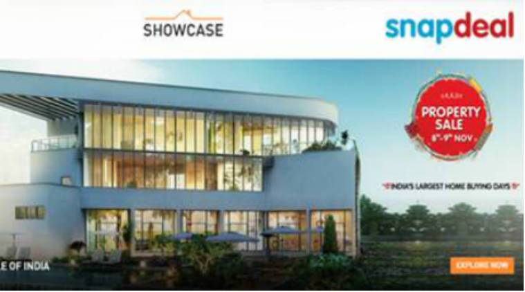 Snapdeal, real-estate. real-estate on Snapdeal, Snapdeal Diwali home buying fest, book home on Snapdeal, technology, technology news