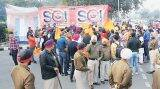 SOI 'encroaches' on parking area, Sukhbir brags of 'longest' convoy