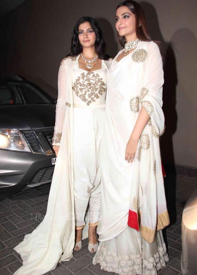 Sonam Kapoor. Rhea Kapoor