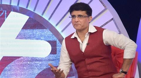 Mumbai: Former Indian captain Sourav Ganguly during an event  'Support My School' Telethon in Mumbai on Sunday. PTI Photo by Santosh Hirlekar(PTI11_29_2015_000152B)