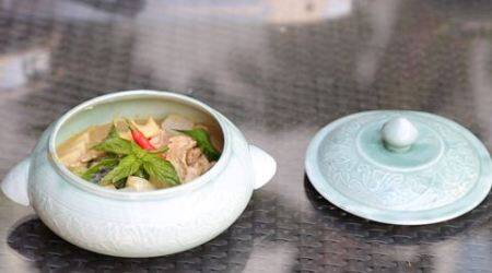 Spice route- Thai Chicken green curry_480