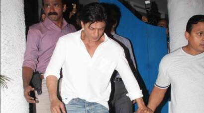 Shah Rukh Khan's mid-week night out
