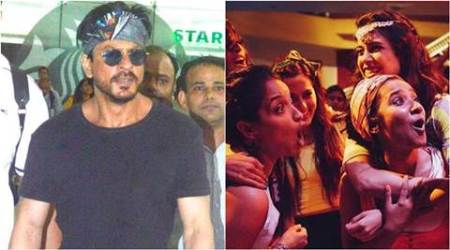 Shah Rukh Khan, SRK, Pan Nalin, Angry Indian Goddesses, Angry Indian Goddesses Special Screening, Angry Indian Goddesses Screening for Shah Rukh Khan, Angry Indian Goddesses Screening for SRK, Pan Nalin Angry Indian Goddesses, Entertainment news
