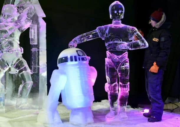Star Wars on ice