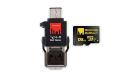 Strontium, Strontium Type-C card reader, Strontium Nitro card reader, microSD card reader type-C, microSD card reader, technology, technology news