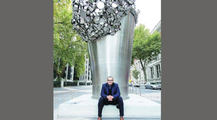 Subodh Gupta, Artist Aubodh Gupta, contemporary art, contemporary artist, Victoria and Albert Museum, Hauser & Wirth, art and culture, talk, indian express