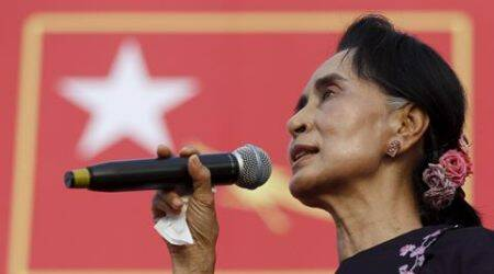 Aung San Suu Kyi, Myanmar election, myanmar polls, Suu Kyi myanmar election, Myanmar president, myanmar news, world news, asia news, latest news