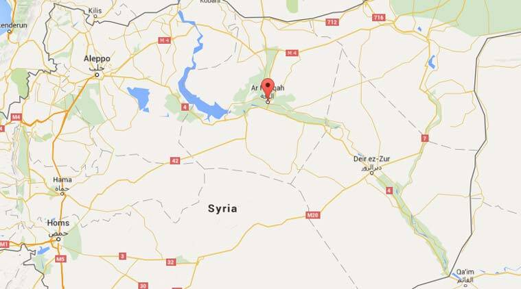 Syria-raqqa, Islamic State, Syria news, Syria-Indian express, US-backed Syrian forces, Syrian kurdish forces-raqqa