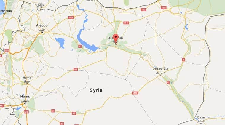 Syria-raqqa, Islamic State, Syria news, Syria-Indian express, US-backed Syrian forces, Syrian kurdish forces-raqqa