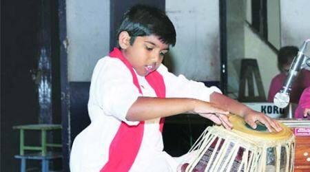 Central govt scholarship for young city tabla player