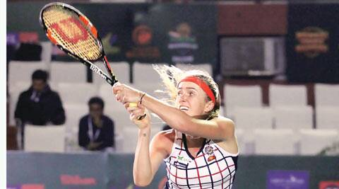 champions tennis league, tennis, tennis news, tennis league, tennis match in chandigarh, punjab marshalls, elina svitolina, sports