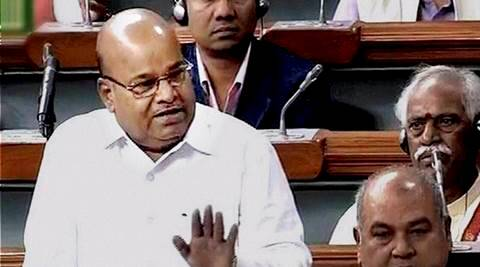 Thawar Chand Gehlot, winter session, parliament winter session, Thawar Chand Gehlot india rajiv gandhi assassination remark, indira rajiv gandhi assassination, india news, parliament news, congress news,