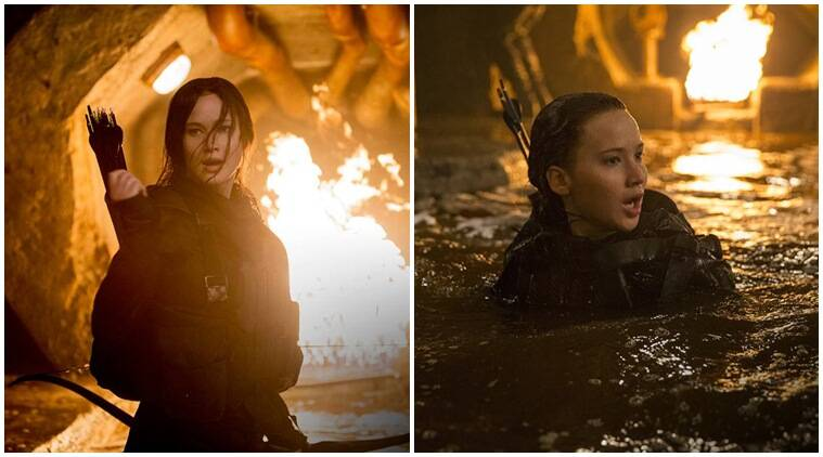 'The Hunger Games' cast shot inside a sewer for three ...