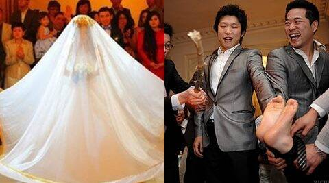 From kidnapping the bride to bashing the groom, these 15 wedding rituals will shock you