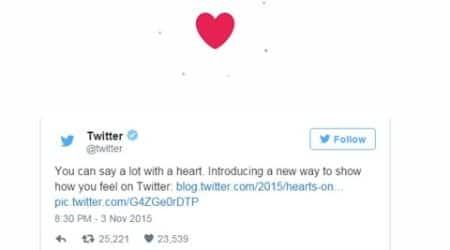Twitter, Twitter heart, twitter icon, twitter new icon, twitter like button, twitter new update, new update by twitter, twitter heart, twitter news, tech news, latest tech news
