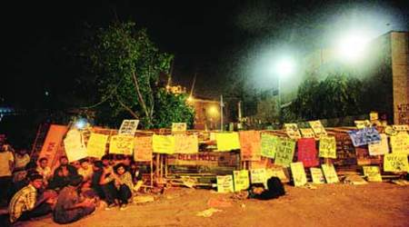 UGC, non-NET fellowships, Shastri Bhawan, NET, UGC students protest, Occupy UGC protesters, nation news, india news