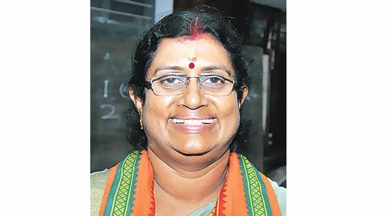BJP, Prameela Sasidharan, BJP first civic body chief, Kerala civic body chief, Kerala Prameela Sasidharan, Indian express